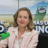 Nadia Calviño en Onda Cero