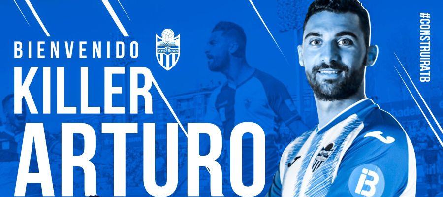 Arturo Rodríguez, nuevo jugador del Atlético Baleares