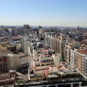 Vistas desde el mítico Edificio España