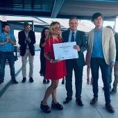 Victoria Pellicer, periodista de Onda Cero Mallorca, recibe el premio de Asociación de Periodista de las Islas Baleares