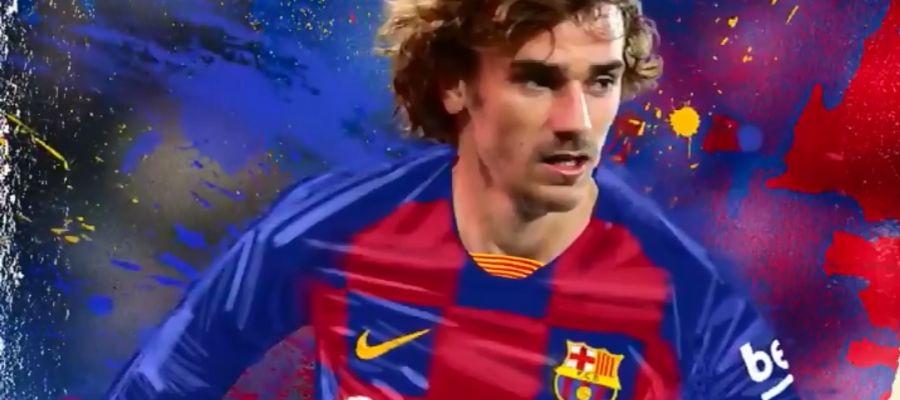 El Barça da la bienvenida a Griezmann
