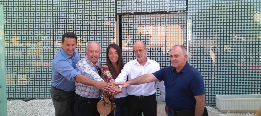 Hoteleros,empresarios y vecinos de s`Arenal