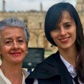 María Perales y Carissa Véliz
