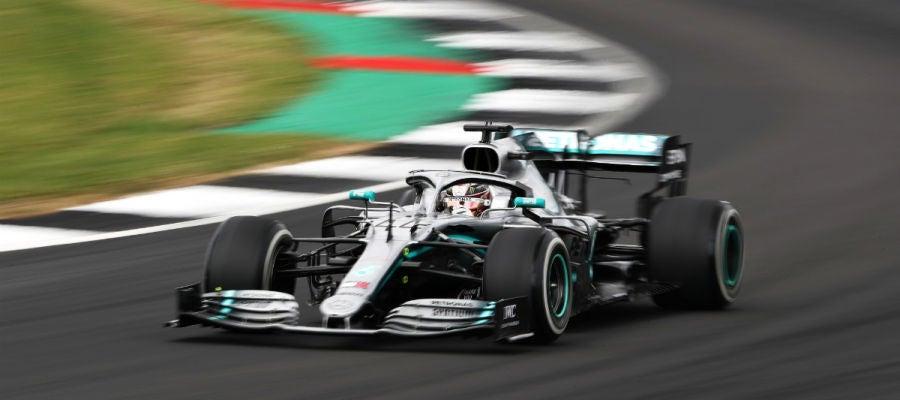 Lewis Hamilton, en Silverstone