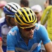 El ciclista español Mikel Landa