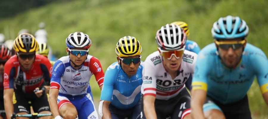 Quintana, en el Tour de Francia