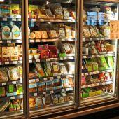 Nevera de un supermercado