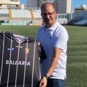 José Juan Romero en su presentación como técnico de la AD Ceuta FC