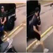 Kolasinac se enfrenta con los asaltantes del coche de Özil