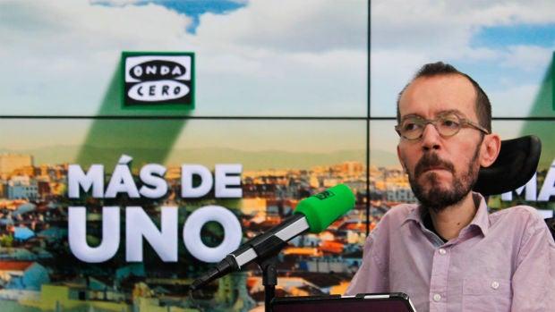 """Pablo Echenique: """"Esperamos que el PSOE acabe rectificando; no hemos parado de ceder"""""""