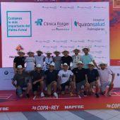 Palma Futsal en la Copa del Rey Mapfre de Vela