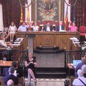 Pleno municipal de julio en el Ayuntamiento de Elche.