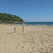 Playa de la Mòra, en Tarragona