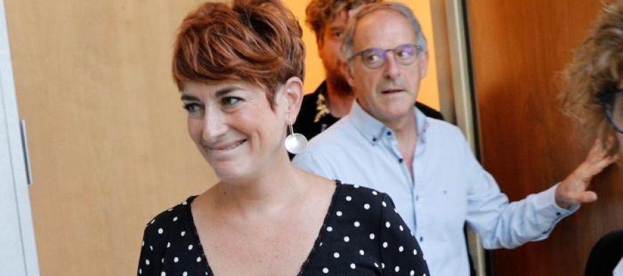 La portavoz de Bildu en el Parlamento de Navarra, Bakartxo Ruiz