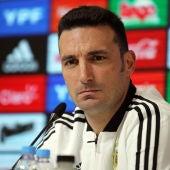 El seleccionador argentino, Lionel Scaloni.