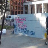 Protestas frente al Ministerio de Sanidad para pedir una atención médica universal