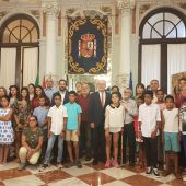 Niños saharauis en Málaga