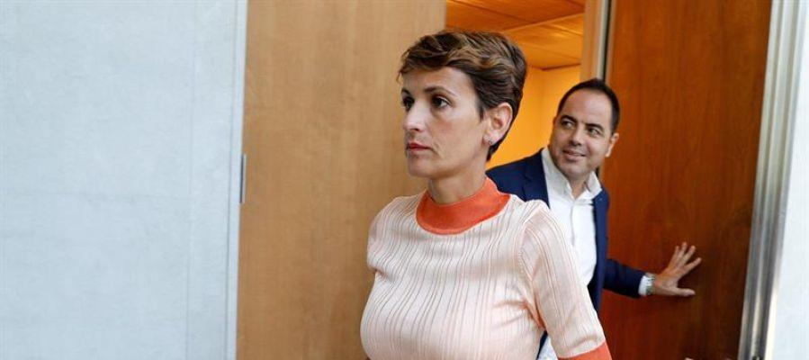 María Chivite, secretaria general del PSN-PSOE