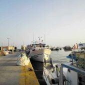 Barcos de pesca en el puerto de Santa Pola.