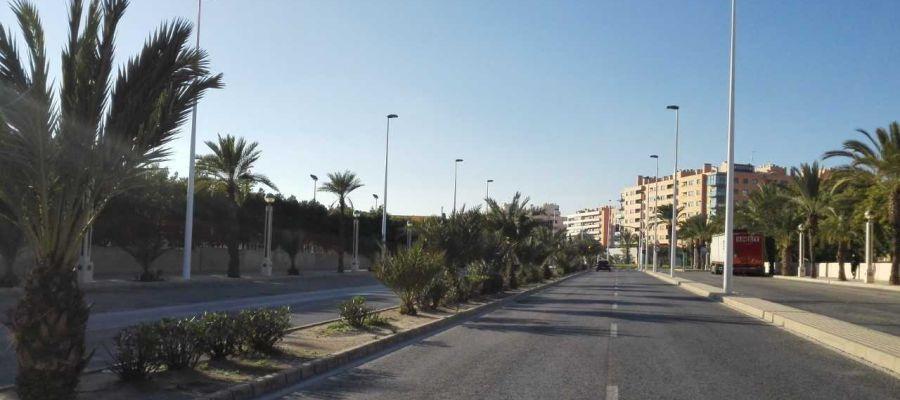 Avenida de la Libertad de Elche.