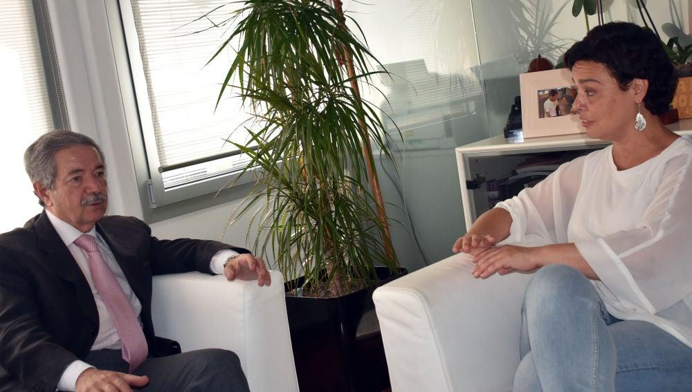 Reunión entre Gómez Arribas y Zamora