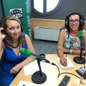 La regidora de Seguridad Ciudadana de Palma, Juana María Adrover, concede una entrevista a Onda Cero.
