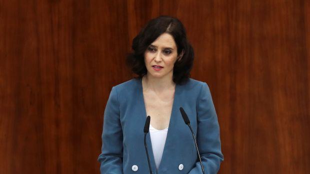 """Isabel Díaz Ayuso: """"Me preocupa más la convivencia con el PSOE que con Vox"""""""