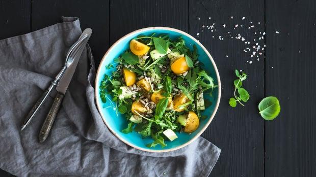 Las recetas de Robin Food: Ensalada con naranjas y limones