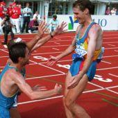 25 años de la maraton de Helsinki con triplete español