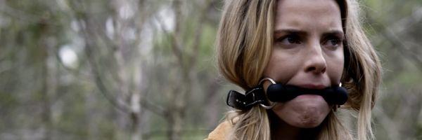 La actriz Betty Gilpin, en una imagen promocional de 'The hunt'