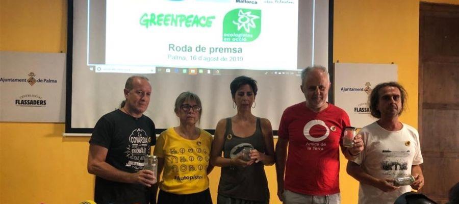 Ecologistas de Mallorca contra la autopista Llucmajor-Campos