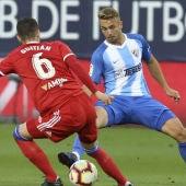 Ontiveros, jugador del Málaga