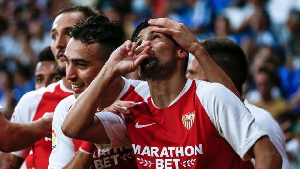 """Nolito: """"Me queda un año de contrato con el Sevilla; estoy muy contento"""""""
