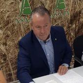 Donaciano Dujo, presidente regional de ASAJA