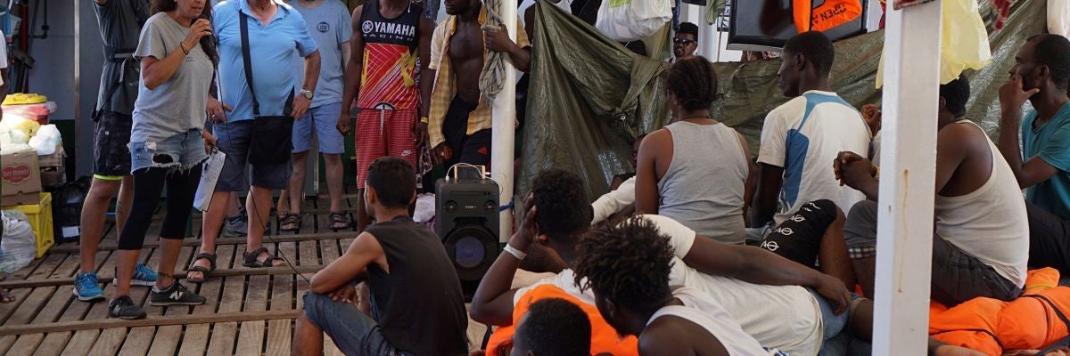 España y otros cuatro países se repartirán a los migrantes del Open Arms