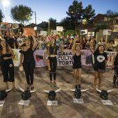 Los manifestantes protestaron frente a la Plaza de Toros de Ciudad Real