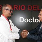 Rafael Carrasco y Ramón Navarro en la elección de nuevo director gerente.