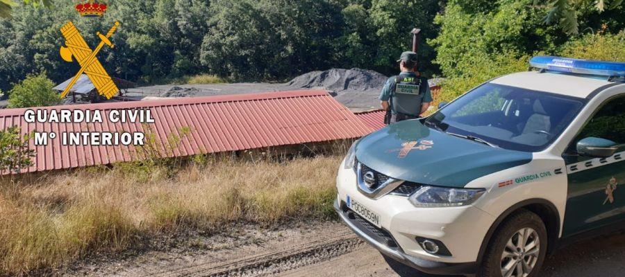 Detenido por robar en una mina de Palencia