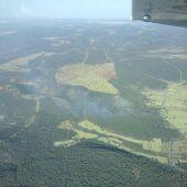 El incendio forestal de Luciana ya está controlado