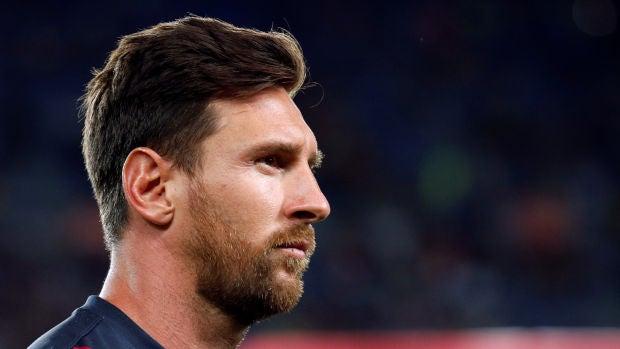Leo Messi vuelve a los entrenamientos