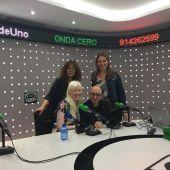 Jesús Vidal, Patty Bonet y Nuria Alonso Martínez-Losa