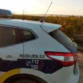 Patrulla de la Policía Local de Elche.