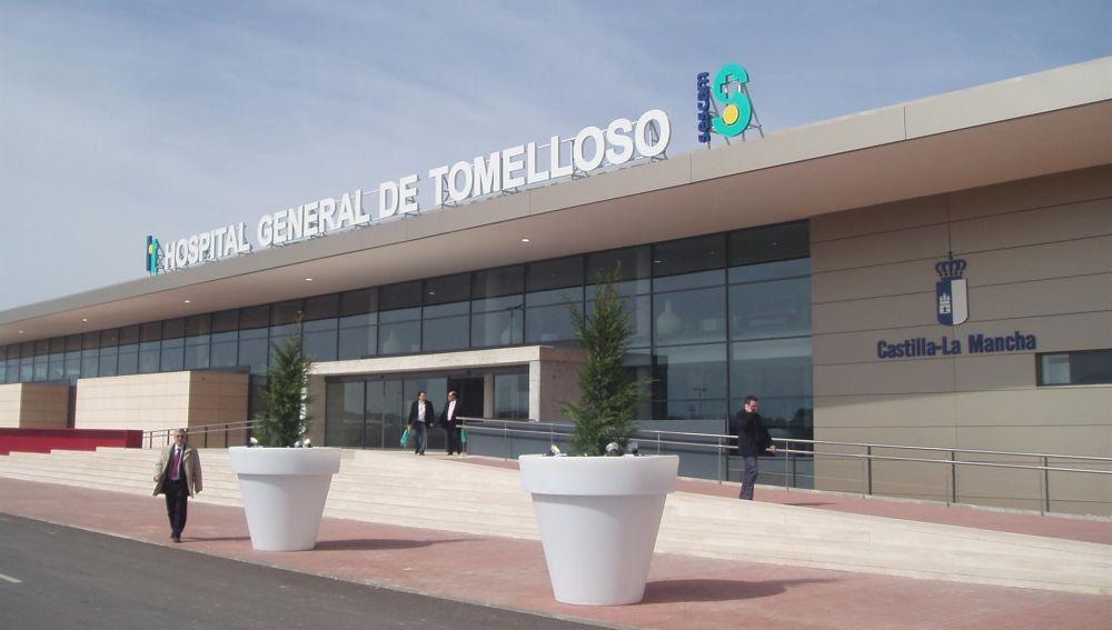 El herido fue trasladado al Hospital de Tomelloso