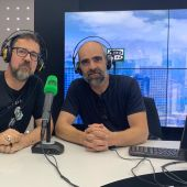 Paco Plaza y Luis Tosar