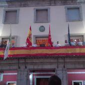 Minuto de silencio en el pregón de inicio de las fiestas de Cercedilla en homenaje a Blanca Fernández Ochoa