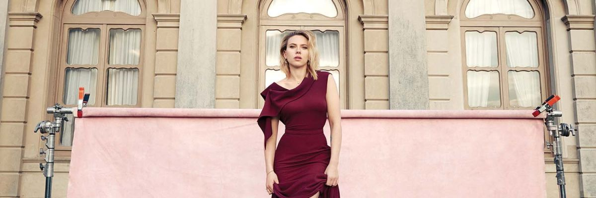 Scarlett Johansson posa para la revista 'The Hollywood Reporter'