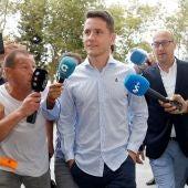 Ander Herrera llega declarar por el presunto amaño del Levante-Zaragoza