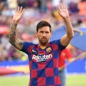 """Jugones (06-09-19) """"Sudores fríos"""" en la directiva del Barcelona por el contrato de Messi"""