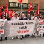 Protestas Sector de la Hostelería