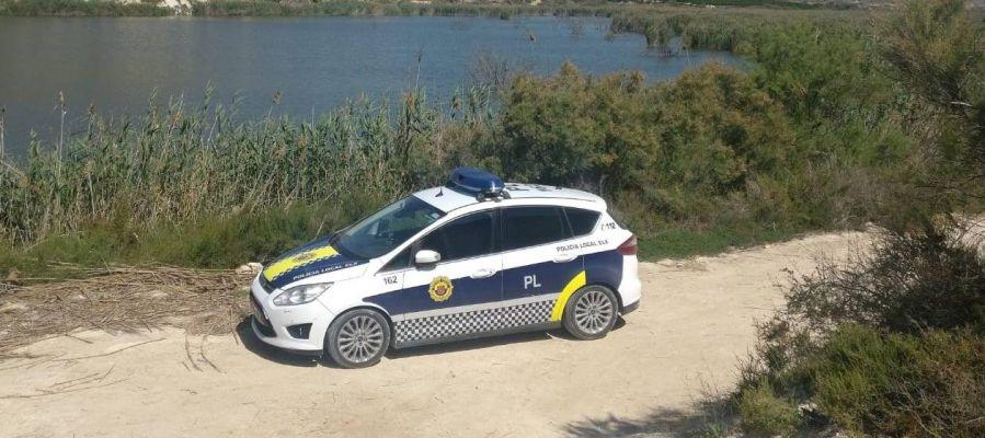 Patrulla de la Unidad de Urbanidad y Medio Ambiente de la Policía Local de Elche.